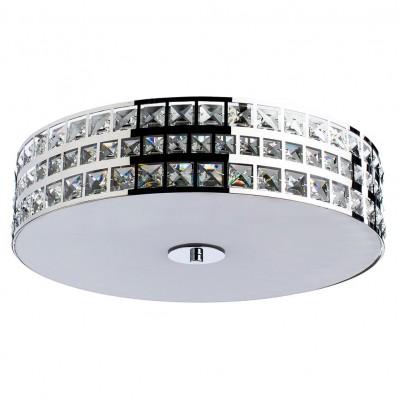 Светильник потолочный Arte lamp A8201PL-5CC MONTE BIANCOПотолочные<br>Компания «Светодом» предлагает широкий ассортимент люстр от известных производителей. Представленные в нашем каталоге товары выполнены из современных материалов и обладают отличным качеством. Благодаря широкому ассортименту Вы сможете найти у нас люстру под любой интерьер. Мы предлагаем как классические варианты, так и современные модели, отличающиеся лаконичностью и простотой форм.  Стильная люстра Arte lamp A8201PL-5CC станет украшением любого дома. Эта модель от известного производителя не оставит равнодушным ценителей красивых и оригинальных предметов интерьера. Люстра Arte lamp A8201PL-5CC обеспечит равномерное распределение света по всей комнате. При выборе обратите внимание на характеристики, позволяющие приобрести наиболее подходящую модель. Купить понравившуюся люстру по доступной цене Вы можете в интернет-магазине «Светодом».<br><br>Установка на натяжной потолок: Ограничено<br>S освещ. до, м2: 10<br>Крепление: Планка<br>Тип лампы: Накаливания / энергосбережения / светодиодная<br>Тип цоколя: E14<br>Количество ламп: 5<br>MAX мощность ламп, Вт: 40<br>Размеры: H14xW45xL45<br>Цвет арматуры: серебристый