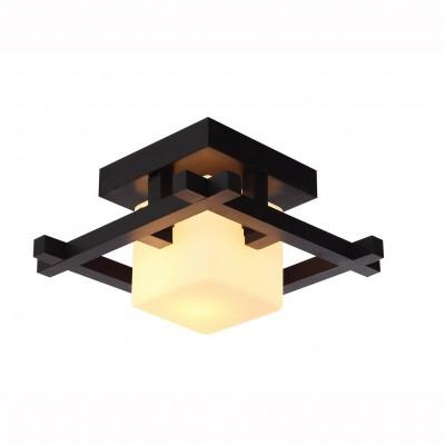 Светильник потолочный Arte lamp A8252PL-1CK WOODSПотолочные<br>Компания «Светодом» предлагает широкий ассортимент люстр от известных производителей. Представленные в нашем каталоге товары выполнены из современных материалов и обладают отличным качеством. Благодаря широкому ассортименту Вы сможете найти у нас люстру под любой интерьер. Мы предлагаем как классические варианты, так и современные модели, отличающиеся лаконичностью и простотой форм. <br>Стильная люстра Arte lamp A8252PL-1CK станет украшением любого дома. Эта модель от известного производителя не оставит равнодушным ценителей красивых и оригинальных предметов интерьера. Люстра Arte lamp A8252PL-1CK обеспечит равномерное распределение света по всей комнате. При выборе обратите внимание на характеристики, позволяющие приобрести наиболее подходящую модель. <br>Купить понравившуюся люстру по доступной цене Вы можете в интернет-магазине «Светодом».<br><br>Установка на натяжной потолок: Да<br>S освещ. до, м2: 3<br>Крепление: Планка<br>Тип лампы: Накаливания / энергосбережения / светодиодная<br>Тип цоколя: E14<br>Цвет арматуры: коричневый<br>Количество ламп: 1<br>Ширина, мм: 250<br>Размеры: H20xW25xL25<br>Длина, мм: 250<br>Высота, мм: 200<br>MAX мощность ламп, Вт: 60