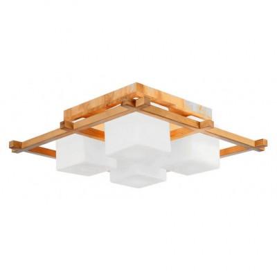 Светильник потолочный Arte lamp A8252PL-4BR WOODSПотолочные<br>Компания «Светодом» предлагает широкий ассортимент люстр от известных производителей. Представленные в нашем каталоге товары выполнены из современных материалов и обладают отличным качеством. Благодаря широкому ассортименту Вы сможете найти у нас люстру под любой интерьер. Мы предлагаем как классические варианты, так и современные модели, отличающиеся лаконичностью и простотой форм.  Стильная люстра Arte lamp A8252PL-4BR станет украшением любого дома. Эта модель от известного производителя не оставит равнодушным ценителей красивых и оригинальных предметов интерьера. Люстра Arte lamp A8252PL-4BR обеспечит равномерное распределение света по всей комнате. При выборе обратите внимание на характеристики, позволяющие приобрести наиболее подходящую модель. Купить понравившуюся люстру по доступной цене Вы можете в интернет-магазине «Светодом».<br><br>Установка на натяжной потолок: Да<br>S освещ. до, м2: 12<br>Крепление: Планка<br>Тип лампы: Накаливания / энергосбережения / светодиодная<br>Тип цоколя: E14<br>Цвет арматуры: коричневый<br>Количество ламп: 4<br>Ширина, мм: 520<br>Размеры: H20xW52xL52<br>Длина, мм: 520<br>Высота, мм: 200<br>MAX мощность ламп, Вт: 60