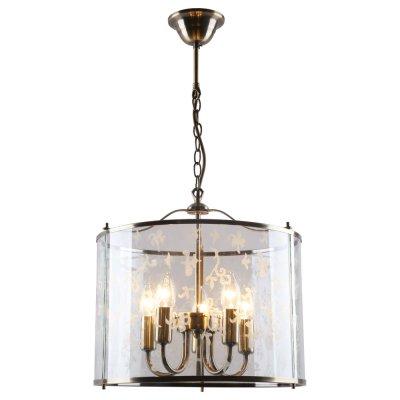 Люстра Arte lamp A8286SP-5AB BrunoПодвесные<br>Отличную модель светильника Arte lamp A8286SP-5AB из серии BRUNO производства Италии возможно купить оптом и в розницу на официальном сайте интернет-магазина Светодом.<br><br>Установка на натяжной потолок: Да<br>S освещ. до, м2: 20<br>Крепление: Крюк<br>Тип лампы: накаливания / энергосбережения / LED-светодиодная<br>Тип цоколя: E14<br>Количество ламп: 5<br>MAX мощность ламп, Вт: 60<br>Диаметр, мм мм: 37<br>Высота, мм: 33