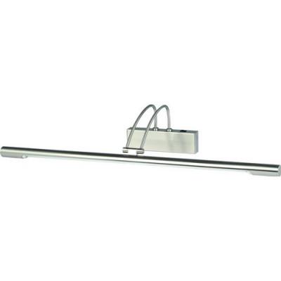 Светильник настенный Arte lamp A8343AP-1SS Picture lightДля картин/зеркал<br><br><br>S освещ. до, м2: 5<br>Крепление: пластина<br>Тип лампы: люминесцентная<br>Тип цоколя: T5<br>Количество ламп: 1<br>Ширина, мм: 680<br>MAX мощность ламп, Вт: 14<br>Диаметр, мм мм: 200<br>Длина, мм: 200<br>Высота, мм: 120<br>Цвет арматуры: серебристый