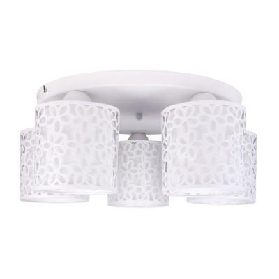 Светильник потолочный Arte lamp A8349PL-5WH Traforato фото