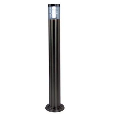 A8363PA-1SS Arte lamp СветильникОдиночные столбы<br><br><br>Тип цоколя: E27<br>Цвет арматуры: Серебристый матовый<br>Количество ламп: 1<br>Диаметр, мм мм: 100<br>Размеры: 100*1100MM<br>Длина, мм: 100<br>Высота, мм: 1100<br>MAX мощность ламп, Вт: 20W<br>Общая мощность, Вт: 60W