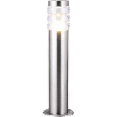 Наземный светильник Arte lamp A8381PA-1SS PorticoОдиночные фонари<br>Обеспечение качественного уличного освещения – важная задача для владельцев коттеджей. Компания «Светодом» предлагает современные светильники, которые порадуют Вас отличным исполнением. В нашем каталоге представлена продукция известных производителей, пользующихся популярностью благодаря высокому качеству выпускаемых товаров.   Уличный светильник Arte lamp A8381PA-1SS не просто обеспечит качественное освещение, но и станет украшением Вашего участка. Модель выполнена из современных материалов и имеет влагозащитный корпус, благодаря которому ей не страшны осадки.   Купить уличный светильник Arte lamp A8381PA-1SS, представленный в нашем каталоге, можно с помощью онлайн-формы для заказа. Чтобы задать имеющиеся вопросы, звоните нам по указанным телефонам. Мы доставим Ваш заказ не только в Москву и Екатеринбург, но и другие города.<br><br>S освещ. до, м2: 1<br>Тип лампы: накаливания / энергосбережения / LED-светодиодная<br>Тип цоколя: E27<br>Количество ламп: 1<br>MAX мощность ламп, Вт: 20<br>Диаметр, мм мм: 120<br>Высота, мм: 430<br>Оттенок (цвет): Прозрачный<br>Цвет арматуры: Серый