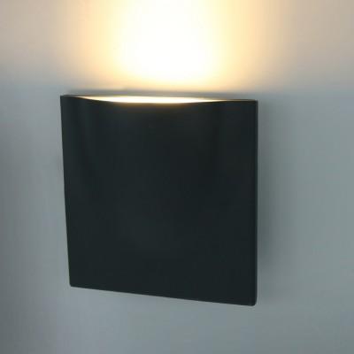 Светильник уличный Arte lamp A8512AL-1GYБра хай тек стиля<br><br><br>Цветовая t, К: 3000K<br>Тип лампы: LED<br>Тип цоколя: LED<br>Цвет арматуры: СЕРЫЙ<br>Количество ламп: 1<br>Диаметр, мм мм: 70<br>Размеры: L200*W200*H65<br>Длина, мм: 200<br>Высота, мм: 200<br>MAX мощность ламп, Вт: 12W<br>Общая мощность, Вт: 12W