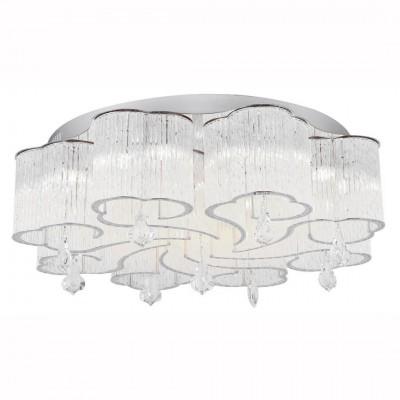 Светильник потолочный Arte lamp A8561PL-20CL ONDATAПотолочные<br>Компания «Светодом» предлагает широкий ассортимент люстр от известных производителей. Представленные в нашем каталоге товары выполнены из современных материалов и обладают отличным качеством. Благодаря широкому ассортименту Вы сможете найти у нас люстру под любой интерьер. Мы предлагаем как классические варианты, так и современные модели, отличающиеся лаконичностью и простотой форм.  Стильная люстра Arte lamp A8561PL-20CL станет украшением любого дома. Эта модель от известного производителя не оставит равнодушным ценителей красивых и оригинальных предметов интерьера. Люстра Arte lamp A8561PL-20CL обеспечит равномерное распределение света по всей комнате. При выборе обратите внимание на характеристики, позволяющие приобрести наиболее подходящую модель. Купить понравившуюся люстру по доступной цене Вы можете в интернет-магазине «Светодом». Мы предлагаем доставку не только по Москве и Екатеринбурге, но и по всей России.<br><br>Установка на натяжной потолок: Ограничено<br>S освещ. до, м2: 33<br>Крепление: Планка<br>Тип товара: Светильник потолочный<br>Тип лампы: галогенная/LED<br>Тип цоколя: G9<br>Количество ламп: 20<br>MAX мощность ламп, Вт: 33<br>Размеры: H24xW68xL68<br>Цвет арматуры: серебристый