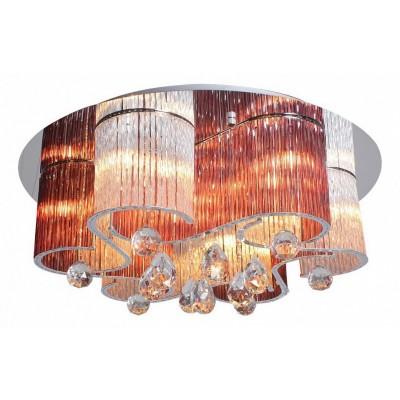 Светильник потолочный Arte lamp A8562PL-15MG ONDATAПотолочные<br>Компания «Светодом» предлагает широкий ассортимент люстр от известных производителей. Представленные в нашем каталоге товары выполнены из современных материалов и обладают отличным качеством. Благодаря широкому ассортименту Вы сможете найти у нас люстру под любой интерьер. Мы предлагаем как классические варианты, так и современные модели, отличающиеся лаконичностью и простотой форм.  Стильная люстра Arte lamp A8562PL-15MG станет украшением любого дома. Эта модель от известного производителя не оставит равнодушным ценителей красивых и оригинальных предметов интерьера. Люстра Arte lamp A8562PL-15MG обеспечит равномерное распределение света по всей комнате. При выборе обратите внимание на характеристики, позволяющие приобрести наиболее подходящую модель. Купить понравившуюся люстру по доступной цене Вы можете в интернет-магазине «Светодом».<br><br>Установка на натяжной потолок: Ограничено<br>S освещ. до, м2: 25<br>Крепление: Планка<br>Тип лампы: галогенная/LED<br>Тип цоколя: G9<br>Количество ламп: 15<br>MAX мощность ламп, Вт: 33<br>Размеры: H25xW60xL60<br>Цвет арматуры: серебристый