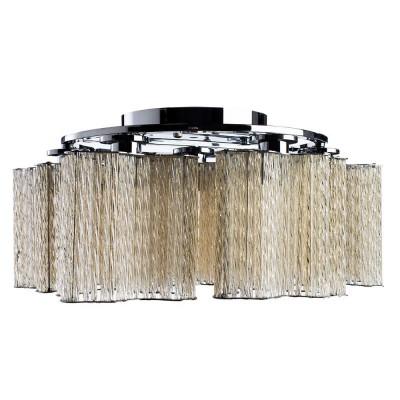 Светильник потолочный Arte lamp A8567PL-7CG DILETTOхрустальные потолочные люстры<br>Компания «Светодом» предлагает широкий ассортимент люстр от известных производителей. Представленные в нашем каталоге товары выполнены из современных материалов и обладают отличным качеством. Благодаря широкому ассортименту Вы сможете найти у нас люстру под любой интерьер. Мы предлагаем как классические варианты, так и современные модели, отличающиеся лаконичностью и простотой форм.  Стильная люстра Arte lamp A8567PL-7CG станет украшением любого дома. Эта модель от известного производителя не оставит равнодушным ценителей красивых и оригинальных предметов интерьера. Люстра Arte lamp A8567PL-7CG обеспечит равномерное распределение света по всей комнате. При выборе обратите внимание на характеристики, позволяющие приобрести наиболее подходящую модель. Купить понравившуюся люстру по доступной цене Вы можете в интернет-магазине «Светодом».<br><br>Установка на натяжной потолок: Ограничено<br>S освещ. до, м2: 14<br>Крепление: Планка<br>Тип лампы: Накаливания / энергосбережения / светодиодная<br>Тип цоколя: E14<br>Цвет арматуры: серебристый<br>Количество ламп: 7<br>Диаметр, мм мм: 500<br>Размеры: H18xW50xL50<br>Высота, мм: 180<br>MAX мощность ламп, Вт: 40