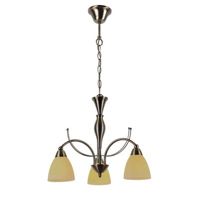 Светильник подвесной Arte lamp A8612LM-3AB PANNAПодвесные<br>Компания «Светодом» предлагает широкий ассортимент люстр от известных производителей. Представленные в нашем каталоге товары выполнены из современных материалов и обладают отличным качеством. Благодаря широкому ассортименту Вы сможете найти у нас люстру под любой интерьер. Мы предлагаем как классические варианты, так и современные модели, отличающиеся лаконичностью и простотой форм. <br>Стильная люстра Arte lamp A8612LM-3AB станет украшением любого дома. Эта модель от известного производителя не оставит равнодушным ценителей красивых и оригинальных предметов интерьера. Люстра Arte lamp A8612LM-3AB обеспечит равномерное распределение света по всей комнате. При выборе обратите внимание на характеристики, позволяющие приобрести наиболее подходящую модель. <br>Купить понравившуюся люстру по доступной цене Вы можете в интернет-магазине «Светодом».<br><br>Установка на натяжной потолок: Да<br>S освещ. до, м2: 6<br>Тип цоколя: E14<br>Количество ламп: 3<br>MAX мощность ламп, Вт: 40<br>Диаметр, мм мм: 450<br>Размеры: H37xW45xL45+шн/цп50<br>Высота, мм: 370 - 500<br>Цвет арматуры: бронзовый