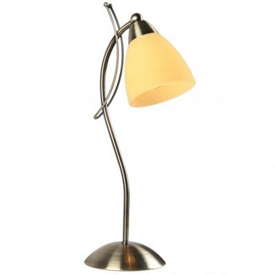 Светильник настольный Arte lamp A8612LT-1AB PANNAСовременные<br>Настольная лампа – это не просто источник дополнительного освещения, но и оригинальный элемент декора. Его можно установить в спальне, гостиной, кабинете и других комнатах. Интернет-магазин «Светодом» предлагает настольные лампы разных стилей по доступным ценам. Благодаря большому ассортименту Вы обязательно найдете в нашем каталоге именно ту модель, которую искали. <br> Настольная лампа Arte lamp A8612LT-1AB – прекрасный вариант для завершения интерьера. Ее можно включить одновременно с люстрой для более яркого освещения или без нее для создания уютной атмосферы, настраивающей на отдых. <br> Купить настольную лампу Arte lamp A8612LT-1AB Вы можете с помощью виртуальной «Корзины» или по контактным номерам, указанным на сайте.<br><br>Тип цоколя: E14<br>Цвет арматуры: бронзовый античный<br>Количество ламп: 1<br>Размеры: H42xW18xL13<br>MAX мощность ламп, Вт: 40