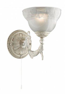 Светильник Arte lamp A8777AP-1WG Atlas NeoКлассические<br><br><br>Тип лампы: накаливания / энергосбережения / LED-светодиодная<br>Тип цоколя: E14<br>Ширина, мм: 170<br>MAX мощность ламп, Вт: 40<br>Расстояние от стены, мм: 270<br>Высота, мм: 210