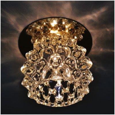 Светильник Arte lamp A8801PL-1CC BrilliantsХрустальные<br>Встраиваемые светильники – популярное осветительное оборудование, которое можно использовать в качестве основного источника или в дополнение к люстре. Они позволяют создать нужную атмосферу атмосферу и привнести в интерьер уют и комфорт.   Интернет-магазин «Светодом» предлагает стильный встраиваемый светильник ARTE Lamp A8801PL-1CC. Данная модель достаточно универсальна, поэтому подойдет практически под любой интерьер. Перед покупкой не забудьте ознакомиться с техническими параметрами, чтобы узнать тип цоколя, площадь освещения и другие важные характеристики.   Приобрести встраиваемый светильник ARTE Lamp A8801PL-1CC в нашем онлайн-магазине Вы можете либо с помощью «Корзины», либо по контактным номерам. Мы развозим заказы по Москве, Екатеринбургу и остальным российским городам.<br><br>Тип лампы: галогенная<br>Тип цоколя: G9<br>MAX мощность ламп, Вт: 50<br>Диаметр, мм мм: 80<br>Диаметр врезного отверстия, мм: 55<br>Высота, мм: 65<br>Цвет арматуры: серебристый