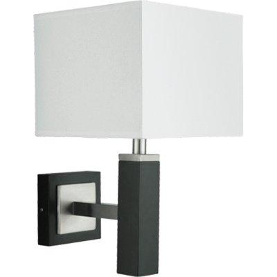 Светильник бра Arte Lamp A8880AP-1BK WaverleyСовременные<br><br><br>S освещ. до, м2: 3<br>Тип лампы: накаливания / энергосбережения / LED-светодиодная<br>Тип цоколя: E14<br>Количество ламп: 1<br>Ширина, мм: 200<br>MAX мощность ламп, Вт: 40<br>Диаметр, мм мм: 260<br>Высота, мм: 350<br>Цвет арматуры: серый