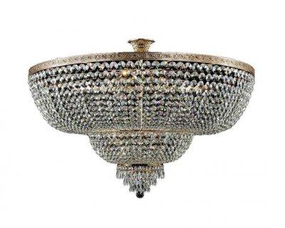 Люстра Maytoni A890-PT100-G Diamant 1Потолочные<br>Эта хрустальная люстра от компании Maytoni станет шикарным интерьерным предметом вашей комнаты. Представленная на фото модель подходит для использования в гостиной. Ее дизайн красив и роскошен, поэтому она отлично подчеркнет респектабельность и величие всего помещения. Конструкция хрустальной люстры Maytoni Diamant Crystal A890-PT100-G состоит из трех ступенчатых переходов. Множество хрустальных камушков будут искриться, переливаться и играть всеми цветами радуги. Металлические элементы золотистого цвета дополнительно подчеркивают благородство изделия от Майтони. Покупая данное устройство по приведенной цене, вы создадите по-настоящему королевскую обстановку. Величие и эксклюзивность полностью оправдывает указанную стоимость люстры.<br><br>Установка на натяжной потолок: Да<br>S освещ. до, м2: 48<br>Крепление: Крюк<br>Тип лампы: накаливания / энергосбережения / LED-светодиодная<br>Тип цоколя: E27<br>Цвет арматуры: золотой<br>Количество ламп: 12<br>Диаметр, мм мм: 1000<br>Высота, мм: 700<br>MAX мощность ламп, Вт: 60
