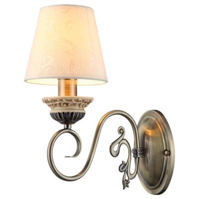 Светильник настенный Arte lamp A9070AP-1AB IvoryРустика<br>Настенный светильник Arte lamp A9070AP-1AB – великолепный образец итальянского светотехнического мастерства, в котором традиционное высокое качество гармонично сочетается с современными технологиями обработки материалов! Изящные, плавные линии арматуры и крепления «увенчаны» трапециевидным белым плафоном из ткани, что делает светильник романтичным, изысканным и «уютным». Рекомендуем Вам использовать бра в комплекте из нескольких экземпляров и люстрой из этой же серии, тогда интерьер будет выглядеть «законченным» и совершенным, как будто над ним поработал профессиональный дизайнер.<br><br>S освещ. до, м2: 4<br>Крепление: пластина<br>Тип лампы: накаливания / энергосбережения / LED-светодиодная<br>Тип цоколя: E14<br>Количество ламп: 1<br>Ширина, мм: 260<br>MAX мощность ламп, Вт: 60<br>Диаметр, мм мм: 150<br>Длина, мм: 260<br>Высота, мм: 320<br>Цвет арматуры: бронзовый