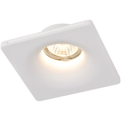 Точечный светильник Arte lamp A9110PL-1WH InvisibleКвадратные<br><br><br>S освещ. до, м2: 3<br>Тип товара: точечный встраиваемый светильник<br>Тип лампы: Галогеновые<br>Тип цоколя: GU10<br>Количество ламп: 1<br>MAX мощность ламп, Вт: 35<br>Диаметр, мм мм: 120<br>Высота, мм: 45<br>Цвет арматуры: белый