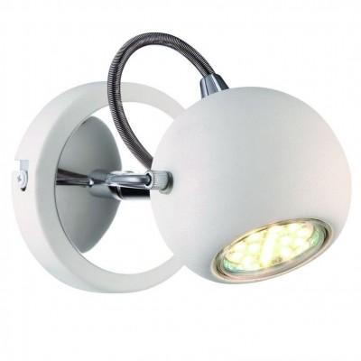 Светильник настенный бра Arte lamp A9128AP-1WH SPIAОдиночные<br>Светильники-споты – это оригинальные изделия с современным дизайном. Они позволяют не ограничивать свою фантазию при выборе освещения для интерьера. Такие модели обеспечивают достаточно качественный свет. Благодаря компактным размерам Вы можете использовать несколько спотов для одного помещения.  Интернет-магазин «Светодом» предлагает необычный светильник-спот ARTE Lamp A9128AP-1WH по привлекательной цене. Эта модель станет отличным дополнением к люстре, выполненной в том же стиле. Перед оформлением заказа изучите характеристики изделия.  Купить светильник-спот ARTE Lamp A9128AP-1WH в нашем онлайн-магазине Вы можете либо с помощью формы на сайте, либо по указанным выше телефонам. Обратите внимание, что у нас склады не только в Москве и Екатеринбурге, но и других городах России.<br><br>Тип лампы: галогенная/LED<br>Тип цоколя: GU10<br>Количество ламп: 1<br>MAX мощность ламп, Вт: 50<br>Размеры: H12xW16xL12<br>Цвет арматуры: белый