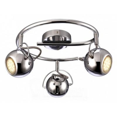 Светильник потолочный Arte lamp A9128PL-3CC SPIAТройные<br>Светильники-споты – это оригинальные изделия с современным дизайном. Они позволяют не ограничивать свою фантазию при выборе освещения для интерьера. Такие модели обеспечивают достаточно качественный свет. Благодаря компактным размерам Вы можете использовать несколько спотов для одного помещения. <br>Интернет-магазин «Светодом» предлагает необычный светильник-спот ARTE Lamp A9128PL-3CC по привлекательной цене. Эта модель станет отличным дополнением к люстре, выполненной в том же стиле. Перед оформлением заказа изучите характеристики изделия. <br>Купить светильник-спот ARTE Lamp A9128PL-3CC в нашем онлайн-магазине Вы можете либо с помощью формы на сайте, либо по указанным выше телефонам. Обратите внимание, что у нас склады не только в Москве и Екатеринбурге, но и других городах России.<br><br>S освещ. до, м2: 8<br>Тип цоколя: GU10<br>Цвет арматуры: серебристый<br>Количество ламп: 3<br>Размеры: H18xW35xL35<br>MAX мощность ламп, Вт: 50