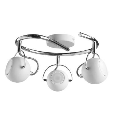 Светильник потолочный Arte lamp A9128PL-3WH SPIAТройные<br>Светильники-споты – это оригинальные изделия с современным дизайном. Они позволяют не ограничивать свою фантазию при выборе освещения для интерьера. Такие модели обеспечивают достаточно качественный свет. Благодаря компактным размерам Вы можете использовать несколько спотов для одного помещения.  Интернет-магазин «Светодом» предлагает необычный светильник-спот ARTE Lamp A9128PL-3WH по привлекательной цене. Эта модель станет отличным дополнением к люстре, выполненной в том же стиле. Перед оформлением заказа изучите характеристики изделия.  Купить светильник-спот ARTE Lamp A9128PL-3WH в нашем онлайн-магазине Вы можете либо с помощью формы на сайте, либо по указанным выше телефонам. Обратите внимание, что у нас склады не только в Москве и Екатеринбурге, но и других городах России.<br><br>Тип цоколя: GU10<br>Количество ламп: 3<br>MAX мощность ламп, Вт: 50<br>Размеры: H18xW35xL35<br>Цвет арматуры: белый