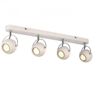 Светильник потолочный Arte lamp A9128PL-4WH SPIAС 4 лампами<br>Светильники-споты – это оригинальные изделия с современным дизайном. Они позволяют не ограничивать свою фантазию при выборе освещения для интерьера. Такие модели обеспечивают достаточно качественный свет. Благодаря компактным размерам Вы можете использовать несколько спотов для одного помещения.  Интернет-магазин «Светодом» предлагает необычный светильник-спот ARTE Lamp A9128PL-4WH по привлекательной цене. Эта модель станет отличным дополнением к люстре, выполненной в том же стиле. Перед оформлением заказа изучите характеристики изделия.  Купить светильник-спот ARTE Lamp A9128PL-4WH в нашем онлайн-магазине Вы можете либо с помощью формы на сайте, либо по указанным выше телефонам. Обратите внимание, что у нас склады не только в Москве и Екатеринбурге, но и других городах России.<br><br>Тип лампы: галогенная/LED<br>Тип цоколя: GU10<br>Количество ламп: 4<br>MAX мощность ламп, Вт: 50<br>Размеры: H16xW12xL62<br>Цвет арматуры: белый