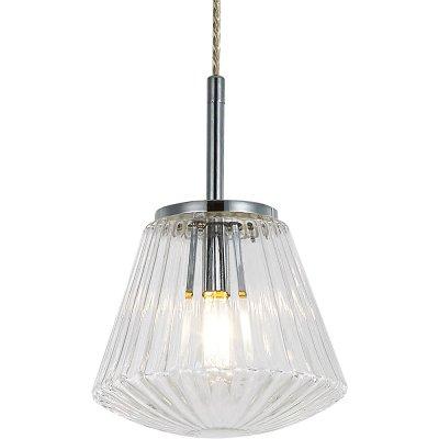 Подвесной светильник Arte lamp A9146SP-1CC EuclidОдиночные<br>Подвесной светильник – это универсальный вариант, подходящий для любой комнаты. Сегодня производители предлагают огромный выбор таких моделей по самым разным ценам. В каталоге интернет-магазина «Светодом» мы собрали большое количество интересных и оригинальных светильников по выгодной стоимости. Вы можете приобрести их в Москве, Екатеринбурге и любом другом городе России.  Подвесной светильник ARTELamp A9146SP-1CC сразу же привлечет внимание Ваших гостей благодаря стильному исполнению. Благородный дизайн позволит использовать эту модель практически в любом интерьере. Она обеспечит достаточно света и при этом легко монтируется. Чтобы купить подвесной светильник ARTELamp A9146SP-1CC, воспользуйтесь формой на нашем сайте или позвоните менеджерам интернет-магазина.<br><br>S освещ. до, м2: 2<br>Крепление: монтажная пластина<br>Тип лампы: накаливания / энергосбережения / LED-светодиодная<br>Тип цоколя: E14<br>Количество ламп: 1<br>MAX мощность ламп, Вт: 40<br>Диаметр, мм мм: 180<br>Длина цепи/провода, мм: 950<br>Высота, мм: 250<br>Оттенок (цвет): Прозрачный<br>Цвет арматуры: серебристый