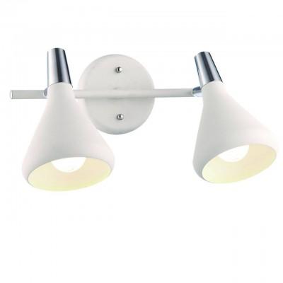 Светильник настенный бра Arte lamp A9154AP-2WH CICLONEДвойные<br>Светильники-споты – это оригинальные изделия с современным дизайном. Они позволяют не ограничивать свою фантазию при выборе освещения для интерьера. Такие модели обеспечивают достаточно качественный свет. Благодаря компактным размерам Вы можете использовать несколько спотов для одного помещения.  Интернет-магазин «Светодом» предлагает необычный светильник-спот ARTE Lamp A9154AP-2WH по привлекательной цене. Эта модель станет отличным дополнением к люстре, выполненной в том же стиле. Перед оформлением заказа изучите характеристики изделия.  Купить светильник-спот ARTE Lamp A9154AP-2WH в нашем онлайн-магазине Вы можете либо с помощью формы на сайте, либо по указанным выше телефонам. Обратите внимание, что у нас склады не только в Москве и Екатеринбурге, но и других городах России.<br><br>Тип лампы: Накаливания / энергосбережения / светодиодная<br>Тип цоколя: E14<br>Количество ламп: 2<br>MAX мощность ламп, Вт: 40<br>Размеры: H20xW18xL34<br>Цвет арматуры: белый