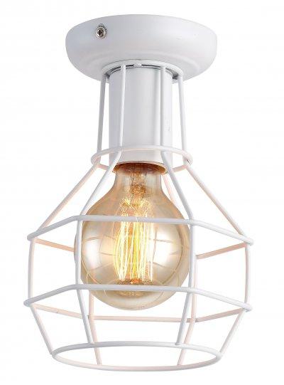 Светильник потолочный белый Arte Lamp A9182PL-1WH фото