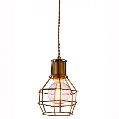 Светильник подвесной Arte lamp A9182SP-1BZ INTERNOОдиночные<br>Компания «Светодом» предлагает широкий ассортимент люстр от известных производителей. Представленные в нашем каталоге товары выполнены из современных материалов и обладают отличным качеством. Благодаря широкому ассортименту Вы сможете найти у нас люстру под любой интерьер. Мы предлагаем как классические варианты, так и современные модели, отличающиеся лаконичностью и простотой форм.  Стильная люстра Arte lamp A9182SP-1BZ станет украшением любого дома. Эта модель от известного производителя не оставит равнодушным ценителей красивых и оригинальных предметов интерьера. Люстра Arte lamp A9182SP-1BZ обеспечит равномерное распределение света по всей комнате. При выборе обратите внимание на характеристики, позволяющие приобрести наиболее подходящую модель.  Купить понравившуюся люстру по доступной цене Вы можете в интернет-магазине «Светодом».<br><br>Установка на натяжной потолок: Ограничено<br>S освещ. до, м2: 1<br>Крепление: Планка<br>Тип лампы: Накаливания / энергосбережения / светодиодная<br>Тип цоколя: E27<br>Количество ламп: 1<br>MAX мощность ламп, Вт: 40<br>Размеры: H21xW15xL15+шн/цп100<br>Цвет арматуры: бронзовый