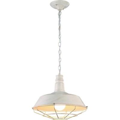 Светильник подвесной Arte lamp A9183SP-1WG PandoraПодвесные<br>Компания «Светодом» предлагает широкий ассортимент люстр от известных производителей. Представленные в нашем каталоге товары выполнены из современных материалов и обладают отличным качеством. Благодаря широкому ассортименту Вы сможете найти у нас люстру под любой интерьер. Мы предлагаем как классические варианты, так и современные модели, отличающиеся лаконичностью и простотой форм.  Стильная люстра Arte lamp A9183SP-1WG станет украшением любого дома. Эта модель от известного производителя не оставит равнодушным ценителей красивых и оригинальных предметов интерьера. Люстра Arte lamp A9183SP-1WG обеспечит равномерное распределение света по всей комнате. При выборе обратите внимание на характеристики, позволяющие приобрести наиболее подходящую модель. Купить понравившуюся люстру по доступной цене Вы можете в интернет-магазине «Светодом». Мы предлагаем доставку не только по Москве и Екатеринбурге, но и по всей России.<br><br>Установка на натяжной потолок: Да<br>S освещ. до, м2: 3<br>Крепление: Планка<br>Тип лампы: Накаливания / энергосбережения / светодиодная<br>Тип цоколя: E27<br>Цвет арматуры: белый с золотистой патиной<br>Количество ламп: 1<br>Диаметр, мм мм: 360<br>Размеры: H30xW36xL36+шн/цп50<br>Высота, мм: 300 - 800<br>MAX мощность ламп, Вт: 60