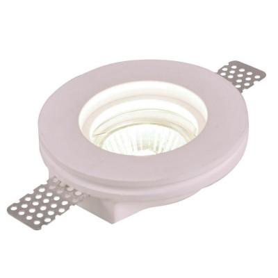 Точечный светильник Arte lamp A9210PL-1WH InvisibleГипсовые<br><br><br>S освещ. до, м2: 3<br>Тип товара: Светильник встраиваемый<br>Тип лампы: Галогеновые<br>Тип цоколя: GU10<br>Количество ламп: 1<br>MAX мощность ламп, Вт: 35<br>Диаметр, мм мм: 100<br>Высота, мм: 24<br>Цвет арматуры: белый