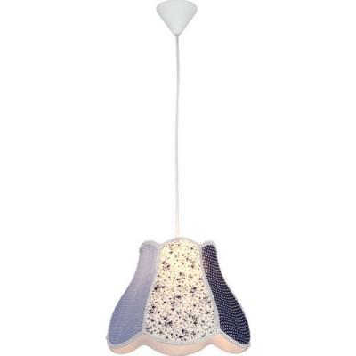 Светильник подвесной Arte lamp A9221SP-1WH ProvenceОдиночные<br><br><br>S освещ. до, м2: 3<br>Крепление: крюк<br>Тип товара: Светильник подвесной<br>Скидка, %: 43<br>Тип лампы: накаливания / энергосбережения / LED-светодиодная<br>Тип цоколя: E27<br>Количество ламп: 1<br>Ширина, мм: 350<br>MAX мощность ламп, Вт: 40<br>Диаметр, мм мм: 350<br>Длина цепи/провода, мм: 1000<br>Высота, мм: 280<br>Цвет арматуры: белый