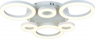 Светильник Arte lamp A9228PL-6WH NASTROПотолочные<br>Компания «Светодом» предлагает широкий ассортимент люстр от известных производителей. Представленные в нашем каталоге товары выполнены из современных материалов и обладают отличным качеством. Благодаря широкому ассортименту Вы сможете найти у нас люстру под любой интерьер. Мы предлагаем как классические варианты, так и современные модели, отличающиеся лаконичностью и простотой форм. <br>Стильная люстра Arte lamp A9228PL-6WH станет украшением любого дома. Эта модель от известного производителя не оставит равнодушным ценителей красивых и оригинальных предметов интерьера. Люстра Arte lamp A9228PL-6WH обеспечит равномерное распределение света по всей комнате. При выборе обратите внимание на характеристики, позволяющие приобрести наиболее подходящую модель. <br>Купить понравившуюся люстру по доступной цене Вы можете в интернет-магазине «Светодом». Мы предлагаем доставку не только по Москве и Екатеринбурге, но и по всей России.<br><br>Установка на натяжной потолок: Да<br>S освещ. до, м2: 22<br>Крепление: Планка<br>Тип лампы: LED<br>Тип цоколя: LED<br>Цвет арматуры: белый<br>Количество ламп: 6<br>Размеры: H11xW70xL70<br>MAX мощность ламп, Вт: 54