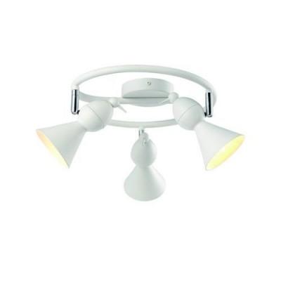 A9229PL-3WH Arte lamp СветильникТройные<br><br><br>S освещ. до, м2: 8<br>Тип цоколя: GU10<br>Цвет арматуры: БЕЛЫЙ<br>Количество ламп: 3<br>Диаметр, мм мм: 460<br>Размеры: ?46*H18<br>Длина, мм: 460<br>Высота, мм: 180<br>MAX мощность ламп, Вт: 50W<br>Общая мощность, Вт: 50W