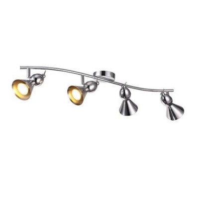 A9229PL-4CC Arte lamp СветильникС 4 лампами<br><br><br>Тип цоколя: GU10<br>Количество ламп: 4<br>MAX мощность ламп, Вт: 50W<br>Диаметр, мм мм: 170<br>Размеры: L84*W17*H18<br>Длина, мм: 840<br>Высота, мм: 180<br>Цвет арматуры: Серебристый хром<br>Общая мощность, Вт: 50W