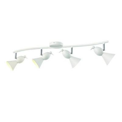 A9229PL-4WH Arte lamp СветильникС 4 лампами<br><br><br>Тип цоколя: GU10<br>Количество ламп: 4<br>MAX мощность ламп, Вт: 50W<br>Диаметр, мм мм: 170<br>Размеры: L84*W17*H18<br>Длина, мм: 840<br>Высота, мм: 180<br>Цвет арматуры: БЕЛЫЙ<br>Общая мощность, Вт: 50W