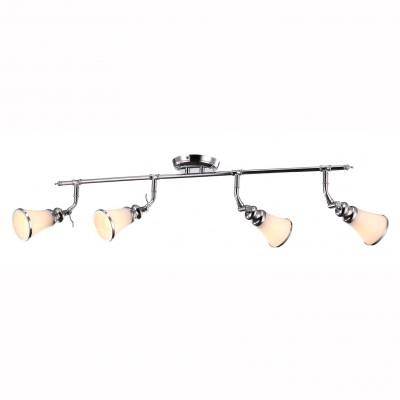 Светильник потолочный Arte lamp A9231PL-4CC VENTOС 4 лампами<br>Светильники-споты – это оригинальные изделия с современным дизайном. Они позволяют не ограничивать свою фантазию при выборе освещения для интерьера. Такие модели обеспечивают достаточно качественный свет. Благодаря компактным размерам Вы можете использовать несколько спотов для одного помещения.  Интернет-магазин «Светодом» предлагает необычный светильник-спот ARTE Lamp A9231PL-4CC по привлекательной цене. Эта модель станет отличным дополнением к люстре, выполненной в том же стиле. Перед оформлением заказа изучите характеристики изделия.  Купить светильник-спот ARTE Lamp A9231PL-4CC в нашем онлайн-магазине Вы можете либо с помощью формы на сайте, либо по указанным выше телефонам. Обратите внимание, что у нас склады не только в Москве и Екатеринбурге, но и других городах России.<br><br>Тип лампы: Накаливания / энергосбережения / светодиодная<br>Тип цоколя: E14<br>Количество ламп: 4<br>MAX мощность ламп, Вт: 40<br>Размеры: H25xW34xL95<br>Цвет арматуры: серебристый хром