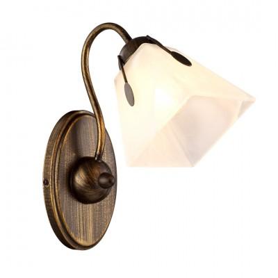 Светильник настенный бра Arte lamp A9233AP-1BR AVANTIМодерн<br><br><br>Тип лампы: Накаливания / энергосбережения / светодиодная<br>Тип цоколя: E27<br>Количество ламп: 1<br>MAX мощность ламп, Вт: 40<br>Размеры: H28xW25xL16<br>Цвет арматуры: коричневый