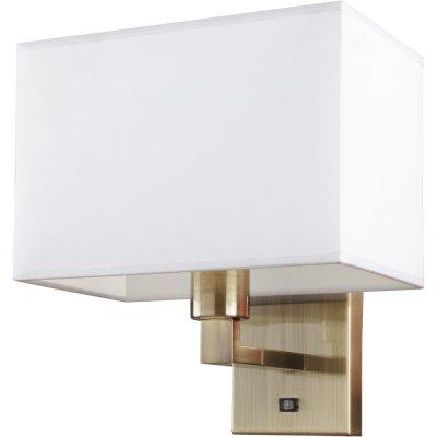 Светильник бра Arte lamp A9248AP-1AB HallСовременные<br><br><br>S освещ. до, м2: 3<br>Тип лампы: накаливания / энергосбережения / LED-светодиодная<br>Тип цоколя: E27<br>Количество ламп: 1<br>Ширина, мм: 220<br>MAX мощность ламп, Вт: 40<br>Диаметр, мм мм: 250<br>Расстояние от стены, мм: 220<br>Высота, мм: 280<br>Цвет арматуры: бронзовый