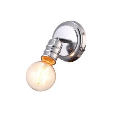 A9265AP-1CC Arte lamp СветильникЛофт<br><br><br>Тип цоколя: E27<br>Цвет арматуры: Серебристый хром<br>Количество ламп: 1<br>Диаметр, мм мм: 120<br>Размеры: L16*W12*H22<br>Длина, мм: 120<br>Высота, мм: 130<br>MAX мощность ламп, Вт: 60W<br>Общая мощность, Вт: 60W