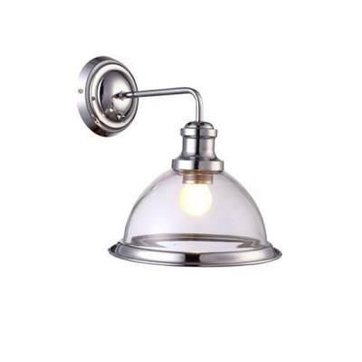 A9273AP-1CC Arte lamp СветильникЛофт<br><br><br>Тип цоколя: E27<br>Цвет арматуры: Серебристый хром<br>Количество ламп: 1<br>Диаметр, мм мм: 230<br>Размеры: L27.5*W23*H30<br>Длина, мм: 310<br>Высота, мм: 270<br>MAX мощность ламп, Вт: 60W<br>Общая мощность, Вт: 60W