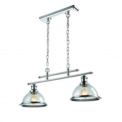 A9273SP-2CC Arte lamp СветильникДвойные<br><br><br>Крепление: Планка<br>Тип цоколя: E27<br>Цвет арматуры: Серебристый хром<br>Количество ламп: 2<br>Диаметр, мм мм: 230<br>Длина цепи/провода, мм: 450<br>Размеры: L70*W23*H76<br>Длина, мм: 700<br>Высота, мм: 300<br>MAX мощность ламп, Вт: 60W<br>Общая мощность, Вт: 60W