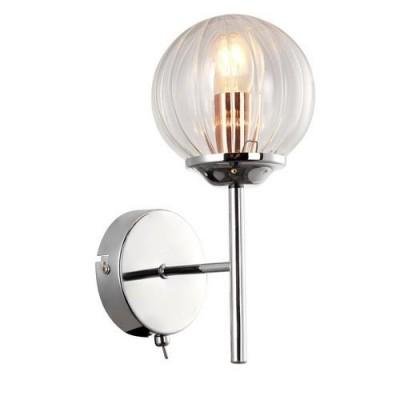 A9276AP-1CC Arte lamp СветильникХай-тек<br><br><br>Тип цоколя: E14<br>Количество ламп: 1<br>MAX мощность ламп, Вт: 40W<br>Диаметр, мм мм: 120<br>Размеры: L16*W12*H25<br>Длина, мм: 160<br>Высота, мм: 260<br>Цвет арматуры: Серебристый хром<br>Общая мощность, Вт: 40W