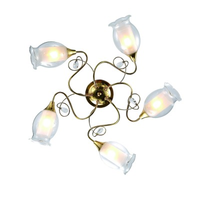 A9289PL-5GO Arte lamp СветильникПотолочные<br><br><br>Установка на натяжной потолок: Да<br>S освещ. до, м2: 10<br>Тип лампы: Накаливания / энергосбережения / светодиодная<br>Тип цоколя: E14<br>Цвет арматуры: золотой<br>Количество ламп: 5<br>Диаметр, мм мм: 710<br>Размеры: ?71*H19<br>Длина, мм: 710<br>Высота, мм: 200<br>MAX мощность ламп, Вт: 40W<br>Общая мощность, Вт: 40W