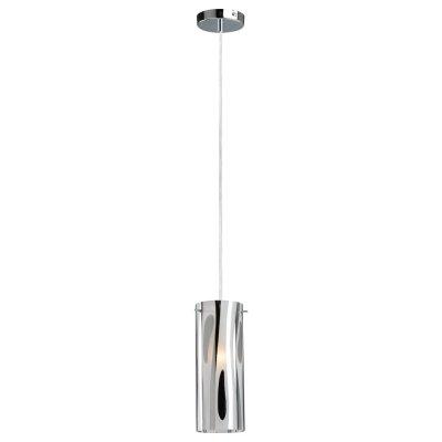 Светильник подвесной Arte lamp A9329SP-1CC CascataОдиночные<br><br><br>S освещ. до, м2: 4<br>Крепление: пластина<br>Тип товара: Светильник подвесной<br>Скидка, %: 17<br>Тип лампы: накаливания / энергосбережения / LED-светодиодная<br>Тип цоколя: E27<br>Количество ламп: 1<br>Ширина, мм: 100<br>MAX мощность ламп, Вт: 60<br>Диаметр, мм мм: 100<br>Длина цепи/провода, мм: 1000<br>Высота, мм: 280<br>Цвет арматуры: серебристый