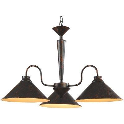 Люстра Arte lamp A9330LM-3BR ConeПодвесные<br>Компания «Светодом» предлагает широкий ассортимент люстр от известных производителей. Представленные в нашем каталоге товары выполнены из современных материалов и обладают отличным качеством. Благодаря широкому ассортименту Вы сможете найти у нас люстру под любой интерьер. Мы предлагаем как классические варианты, так и современные модели, отличающиеся лаконичностью и простотой форм.  Стильная люстра Arte lamp A9330LM-3BR станет украшением любого дома. Эта модель от известного производителя не оставит равнодушным ценителей красивых и оригинальных предметов интерьера. Люстра Arte lamp A9330LM-3BR обеспечит равномерное распределение света по всей комнате. При выборе обратите внимание на характеристики, позволяющие приобрести наиболее подходящую модель. Купить понравившуюся люстру по доступной цене Вы можете в интернет-магазине «Светодом».<br><br>Установка на натяжной потолок: Да<br>S освещ. до, м2: 12<br>Крепление: Крюк<br>Тип лампы: накаливания / энергосбережения / LED-светодиодная<br>Тип цоколя: E27<br>Количество ламп: 3<br>Ширина, мм: 700<br>MAX мощность ламп, Вт: 60<br>Диаметр, мм мм: 700<br>Длина цепи/провода, мм: 440<br>Высота, мм: 540<br>Цвет арматуры: коричневый