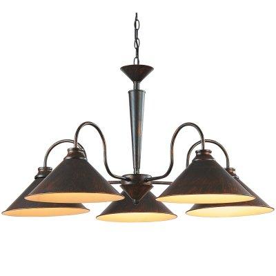 Люстра Arte lamp A9330LM-5BR ConeПодвесные<br>Компания «Светодом» предлагает широкий ассортимент люстр от известных производителей. Представленные в нашем каталоге товары выполнены из современных материалов и обладают отличным качеством. Благодаря широкому ассортименту Вы сможете найти у нас люстру под любой интерьер. Мы предлагаем как классические варианты, так и современные модели, отличающиеся лаконичностью и простотой форм. <br>Стильная люстра Arte lamp A9330LM-5BR станет украшением любого дома. Эта модель от известного производителя не оставит равнодушным ценителей красивых и оригинальных предметов интерьера. Люстра Arte lamp A9330LM-5BR обеспечит равномерное распределение света по всей комнате. При выборе обратите внимание на характеристики, позволяющие приобрести наиболее подходящую модель. <br>Купить понравившуюся люстру по доступной цене Вы можете в интернет-магазине «Светодом».<br><br>Установка на натяжной потолок: Да<br>S освещ. до, м2: 20<br>Крепление: Крюк<br>Тип лампы: накаливания / энергосбережения / LED-светодиодная<br>Тип цоколя: E27<br>Количество ламп: 5<br>Ширина, мм: 830<br>MAX мощность ламп, Вт: 60<br>Диаметр, мм мм: 830<br>Длина цепи/провода, мм: 440<br>Высота, мм: 540<br>Цвет арматуры: коричневый
