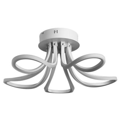 Светильник Arte lamp A9354PL-5WH NASTROПотолочные<br>Компания «Светодом» предлагает широкий ассортимент люстр от известных производителей. Представленные в нашем каталоге товары выполнены из современных материалов и обладают отличным качеством. Благодаря широкому ассортименту Вы сможете найти у нас люстру под любой интерьер. Мы предлагаем как классические варианты, так и современные модели, отличающиеся лаконичностью и простотой форм.  Стильная люстра Arte lamp A9354PL-5WH станет украшением любого дома. Эта модель от известного производителя не оставит равнодушным ценителей красивых и оригинальных предметов интерьера. Люстра Arte lamp A9354PL-5WH обеспечит равномерное распределение света по всей комнате. При выборе обратите внимание на характеристики, позволяющие приобрести наиболее подходящую модель. Купить понравившуюся люстру по доступной цене Вы можете в интернет-магазине «Светодом».<br><br>Установка на натяжной потолок: Да<br>S освещ. до, м2: 14<br>Крепление: Планка<br>Тип лампы: LED<br>Тип цоколя: LED<br>Цвет арматуры: белый<br>Количество ламп: 5<br>Диаметр, мм мм: 560<br>Размеры: H25xW56xL56<br>Высота, мм: 250<br>MAX мощность ламп, Вт: 35