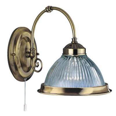 Светильник бра Arte Lamp A9366AP-1AB American DinerКлассические<br><br><br>S освещ. до, м2: 4<br>Тип лампы: накаливания / энергосбережения / LED-светодиодная<br>Тип цоколя: E27<br>Количество ламп: 1<br>Ширина, мм: 200<br>MAX мощность ламп, Вт: 60<br>Диаметр, мм мм: 250<br>Высота, мм: 210<br>Цвет арматуры: бронзовый