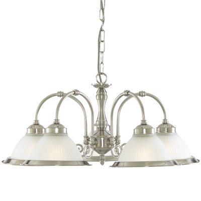 Люстра Arte Lamp A9366LM-5SS American DinerПодвесные<br>Компания «Светодом» предлагает широкий ассортимент люстр от известных производителей. Представленные в нашем каталоге товары выполнены из современных материалов и обладают отличным качеством. Благодаря широкому ассортименту Вы сможете найти у нас люстру под любой интерьер. Мы предлагаем как классические варианты, так и современные модели, отличающиеся лаконичностью и простотой форм.  Стильная люстра Arte lamp A9366LM-5SS станет украшением любого дома. Эта модель от известного производителя не оставит равнодушным ценителей красивых и оригинальных предметов интерьера. Люстра Arte lamp A9366LM-5SS обеспечит равномерное распределение света по всей комнате. При выборе обратите внимание на характеристики, позволяющие приобрести наиболее подходящую модель. Купить понравившуюся люстру по доступной цене Вы можете в интернет-магазине «Светодом».<br><br>Установка на натяжной потолок: Да<br>S освещ. до, м2: 20<br>Крепление: Крюк<br>Тип лампы: накаливания / энергосбережения / LED-светодиодная<br>Тип цоколя: E27<br>Количество ламп: 5<br>Ширина, мм: 620<br>MAX мощность ламп, Вт: 60<br>Диаметр, мм мм: 620<br>Длина цепи/провода, мм: 500<br>Высота, мм: 280<br>Цвет арматуры: серый