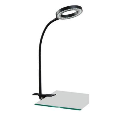 Светильник настольный Arte lamp A9420LT-1BK LED DeskСветодиодные<br><br><br>S освещ. до, м2: 2<br>Тип товара: светильник настольный лампа<br>Скидка, %: 44<br>Тип лампы: LED - светодиодная<br>Тип цоколя: LED<br>Количество ламп: 1<br>Ширина, мм: 110<br>MAX мощность ламп, Вт: 2<br>Диаметр, мм мм: 100<br>Длина, мм: 100<br>Высота, мм: 460<br>Цвет арматуры: черный
